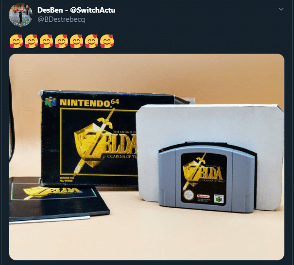 DesBen tweet Zelda OOT
