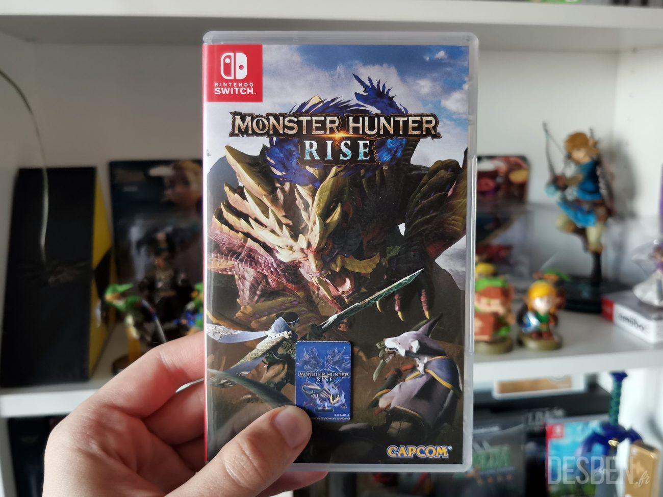 Carte Amiibo Monster Hunter Rise